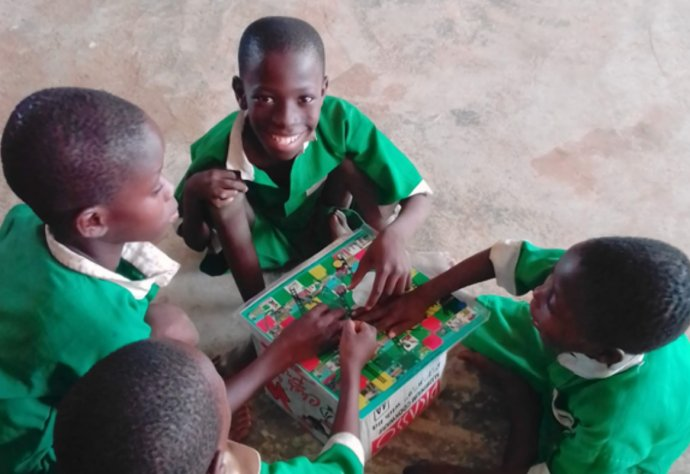A captivating schistomiaisis board game for school children living in endemic communities.