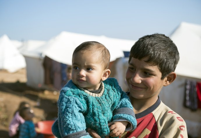 Meningitis epidemics often strike in overcrowded conditions, such as refugee camps.