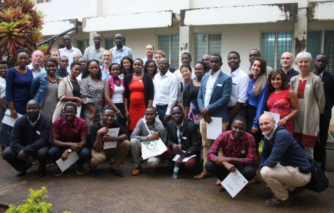 All the presenters from East African Research in Progress meeting in Moshi this September