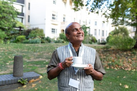 Rajni Singh at the RSTMH Annual Meeting in London, September 2018