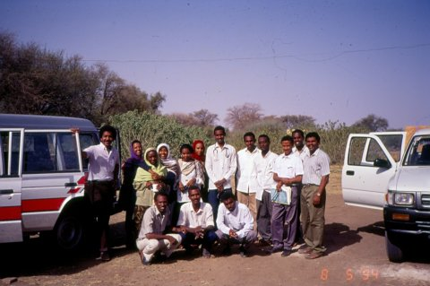 The first mycetoma field survey conducted in 1994 at EL Gaziera State