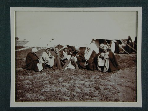 Patients recovering after operation. Fayoum, 1904