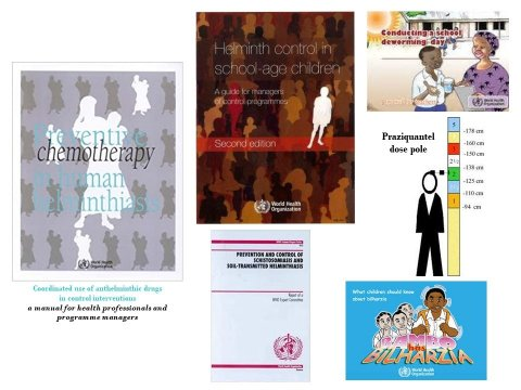 WHO guidance documents for the implementation of preventive NTD treatment