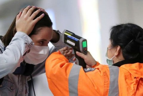 Temperature checks at airports are ineffective at detecting COVID-19 infected individuals who may be pre-symptomatic.